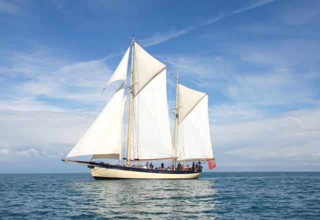 Tall Ship Sailing in the Isles of Scilly