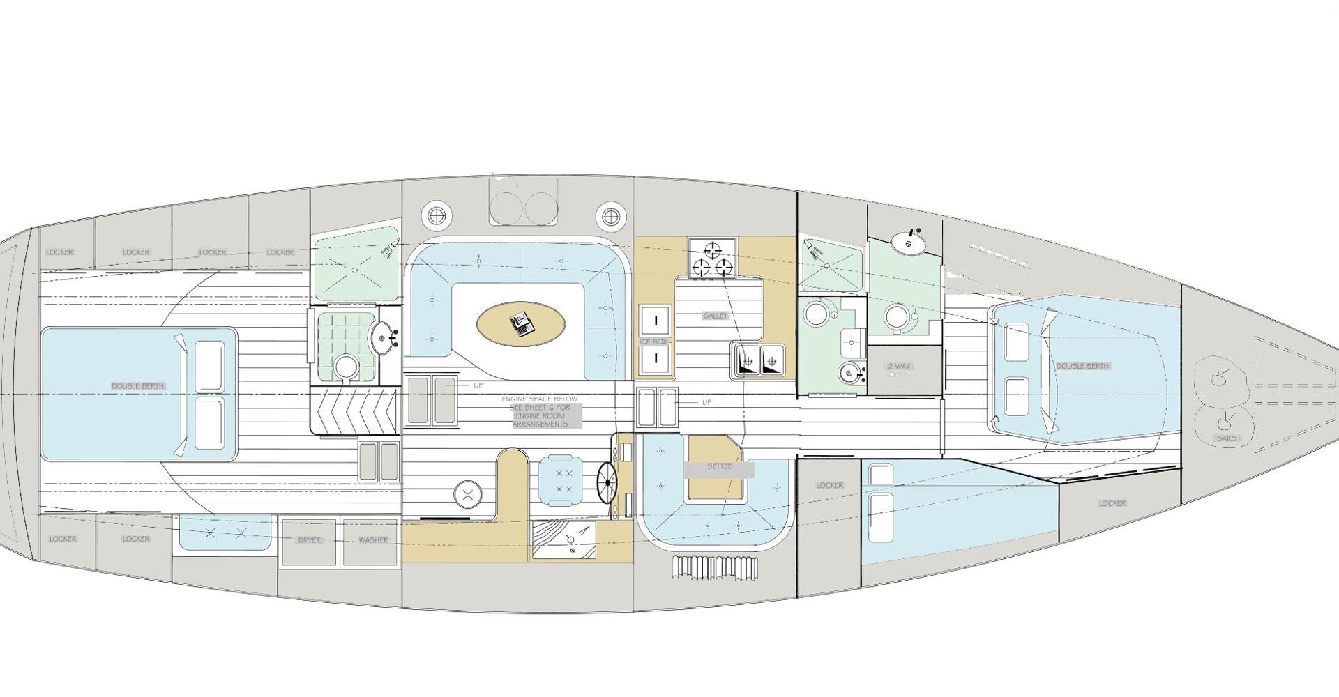 Narwhal Deck Plan