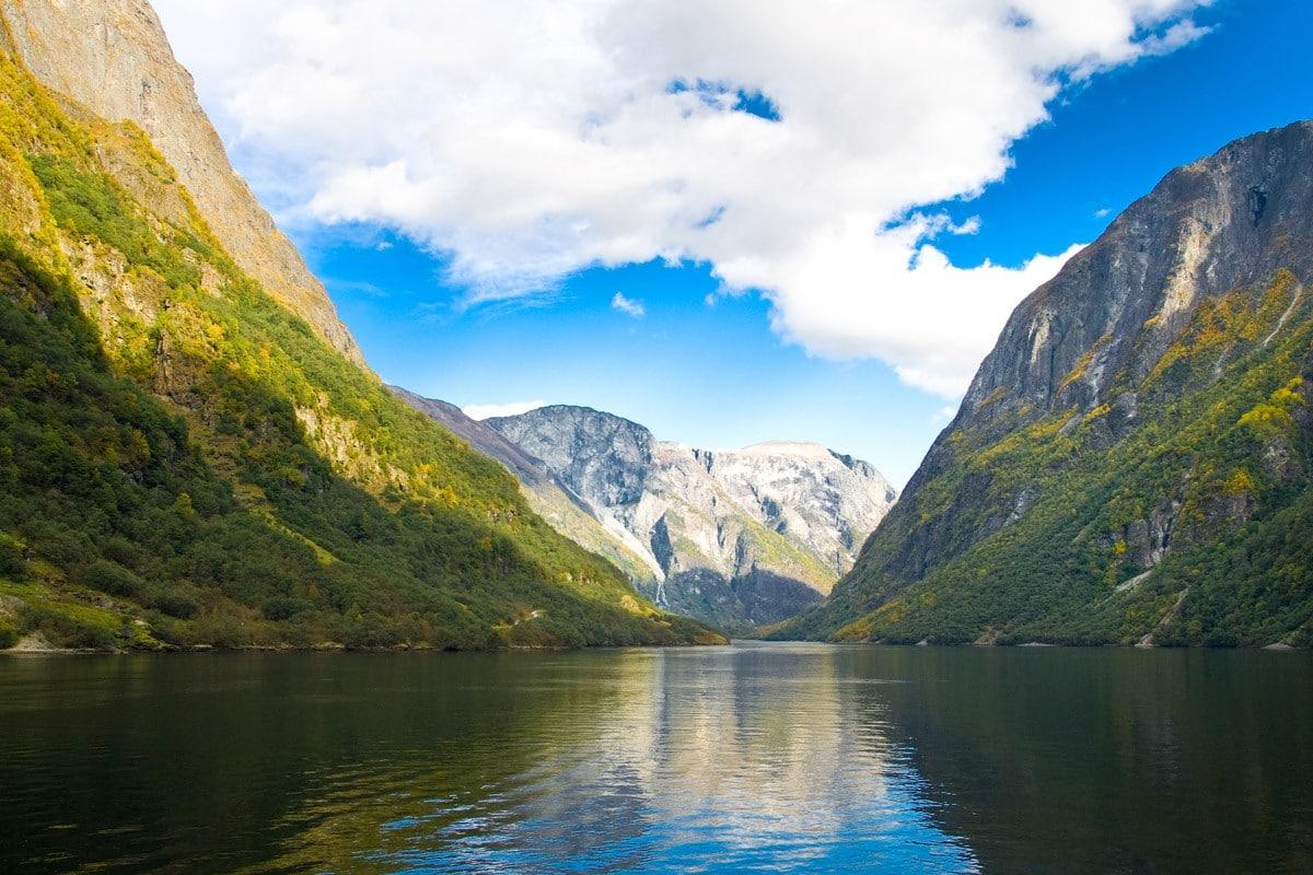 North Sea fjords Norway sailing holiday