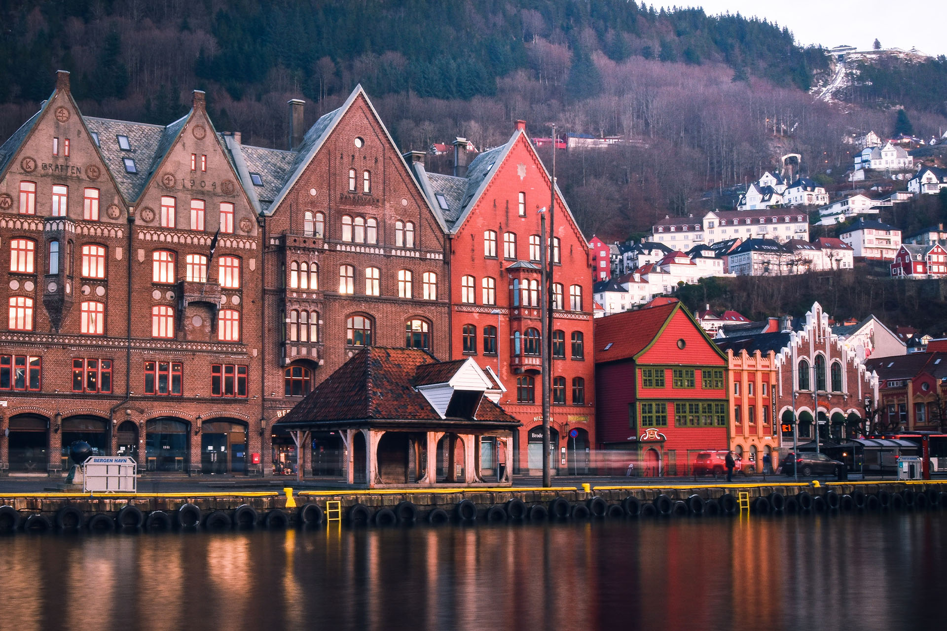 Norway Bergen waterfront