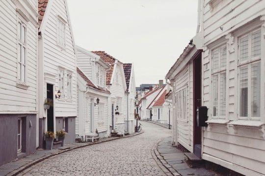 Norway Stavanger street