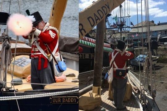 Our Daddy at Brixham Pirate Regatta