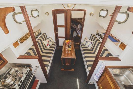 Our Daddy below decks