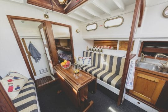 Our Daddy full shot below decks