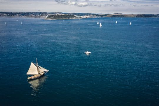 Pellew Falmouth sailing