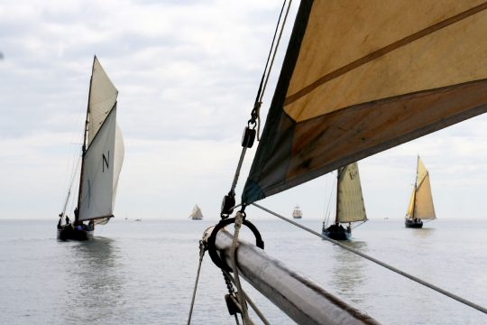 Pellew Pilot Cutter Sailing