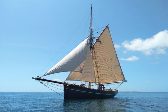 Pellew Sailing Sea Trials