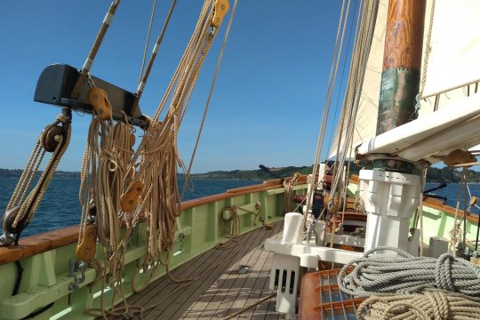 Pellew on deck