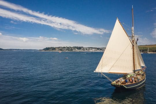 Pellew sailing in falmouth