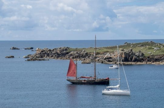 Sailing Holidays in Devon and Cornwall on Pilgrim of Brixham