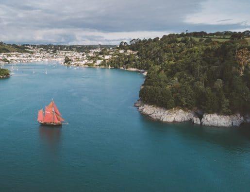 Devon to Cornwall Tall Ship Adventure