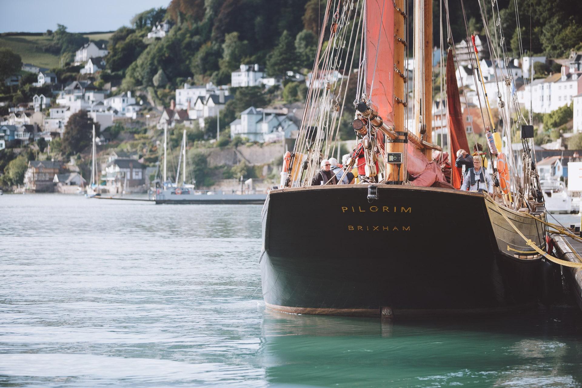Pilgrim-alongside-Dartmouth