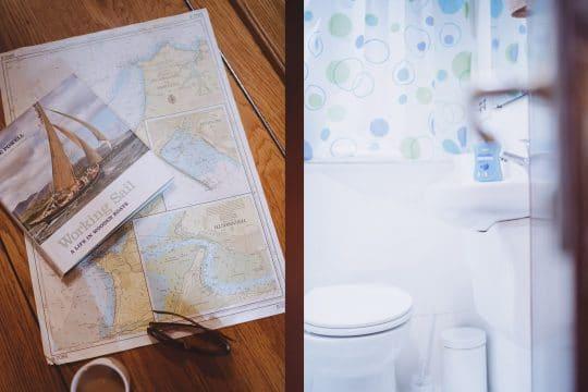Pilgrim boat bathroom