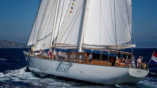 Rhea stern sailing