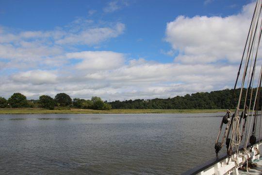 River Tamar Lynher anchor