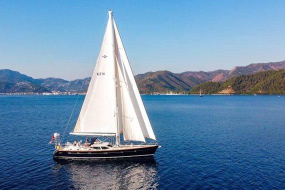 Skyelark sail