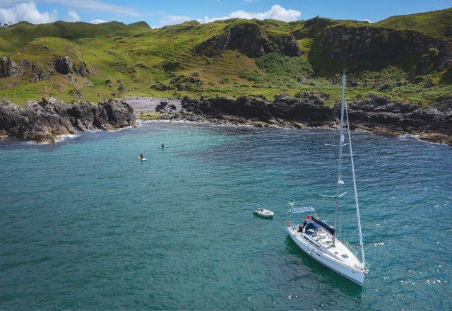 Sailing & Swimming around Mull