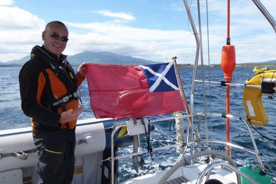 Stravaigin sailing in scotland
