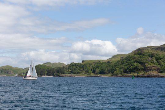 Stravaigin scotland from the water