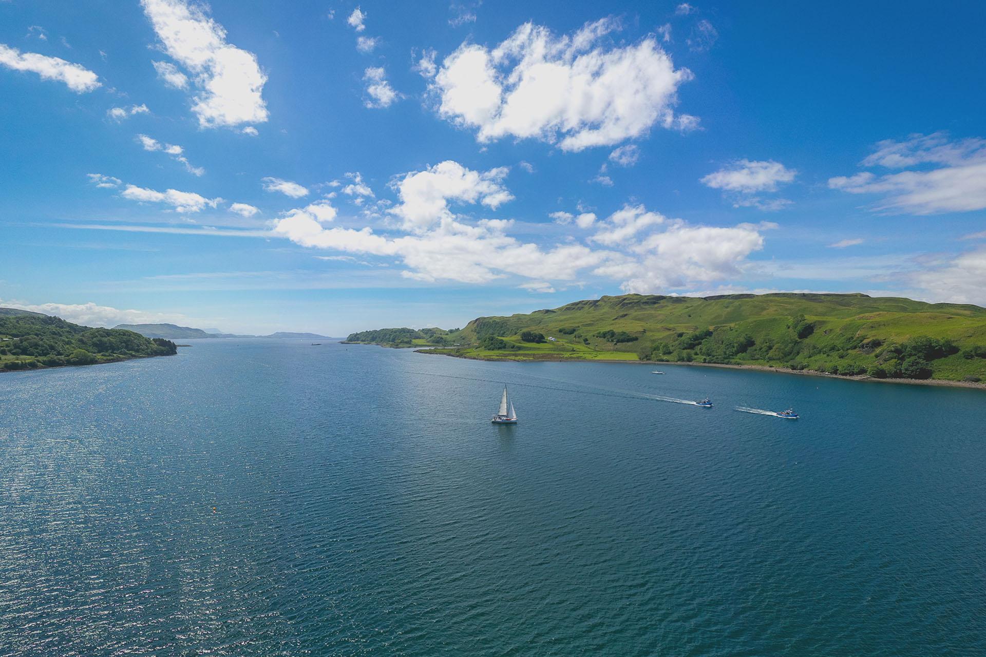 Stravaigin scotland sailing