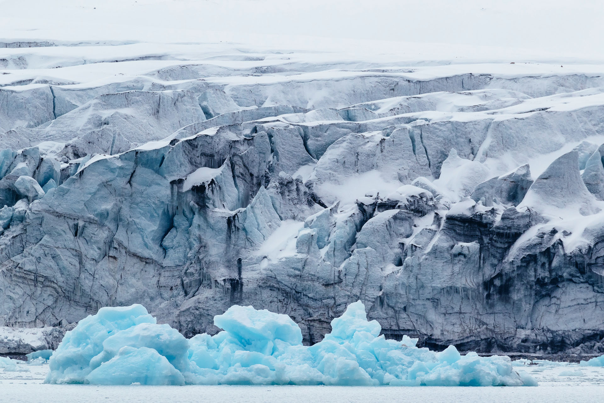 Svalbard ice berg