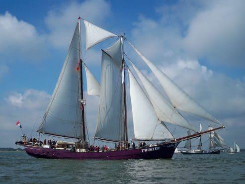 Twister Tall Ship Sailing Holidays