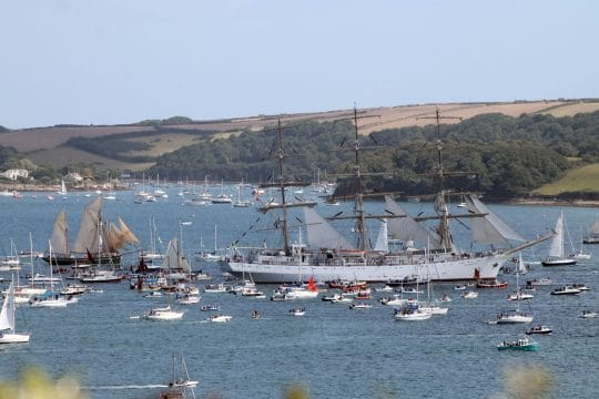 Tall Ships Race Falmouth Harbour