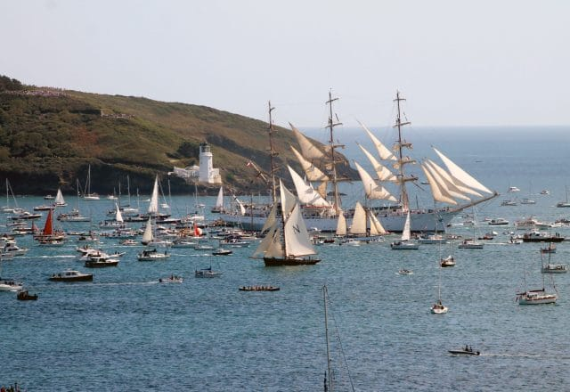 Cornish Coastal Sailing & Tall Ship Racing