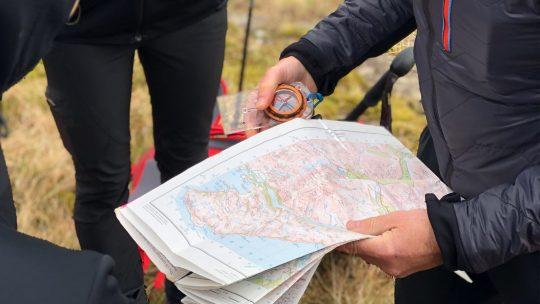 Trek and Sail guide map