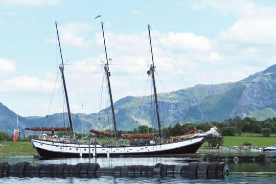 Trinovante sails down