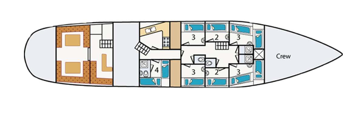 Twister deck-plan