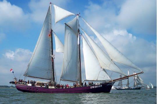Schooner Twister - fullsail