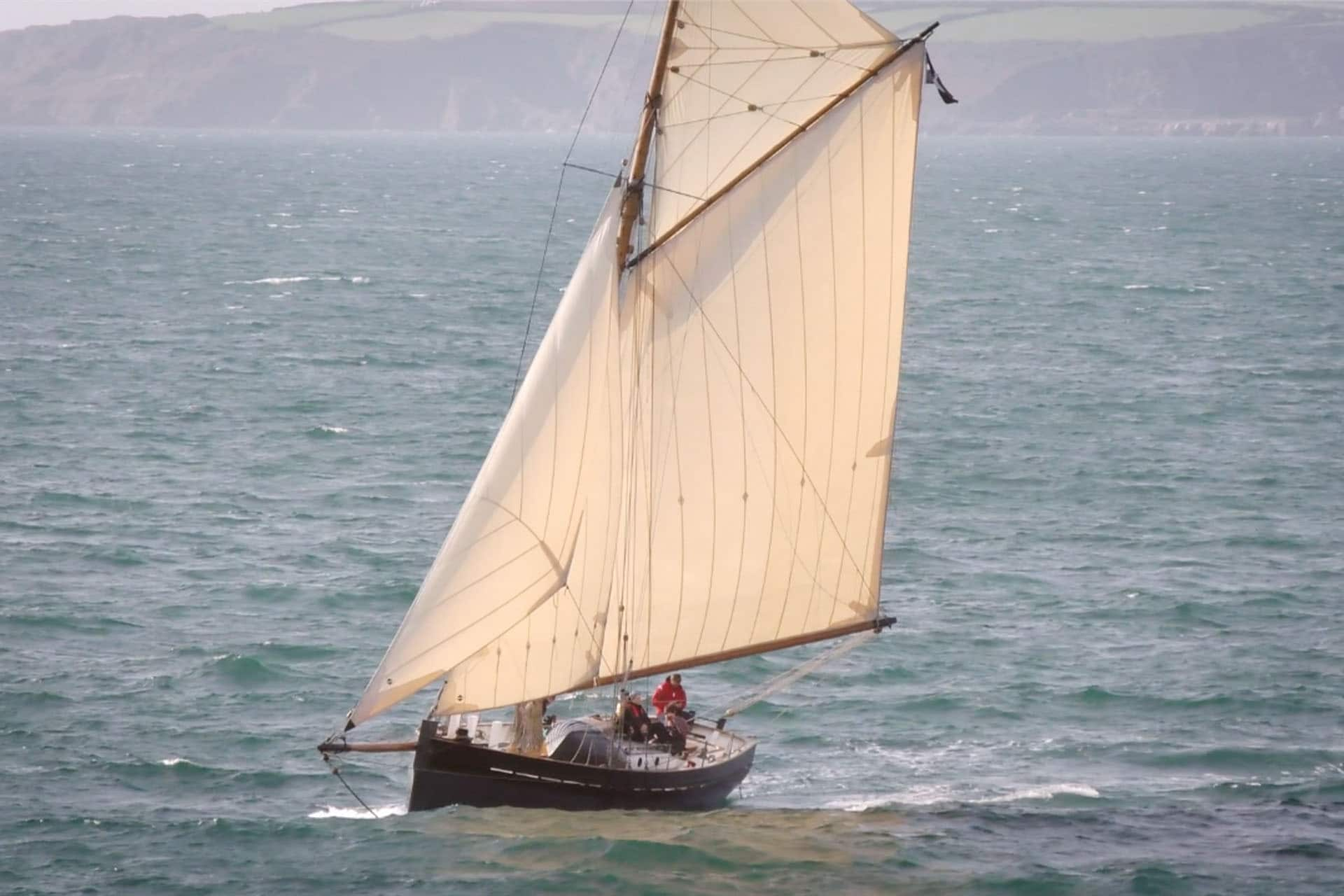 Unity under sail