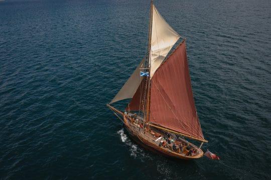 Venturesail-Eda-Fransen-aerial-sailing-cornwall