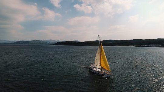 Zuza sailing yacht Scotland