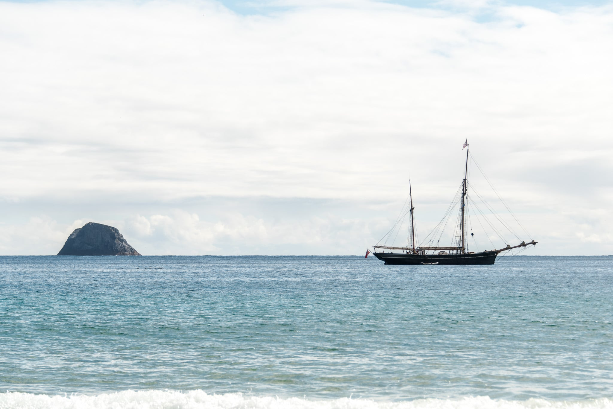 anchored off scotland