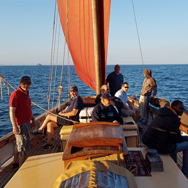 life on board Our Daddy Cornish lugger