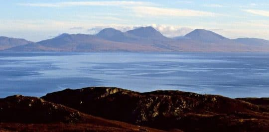 Jura from colonsay