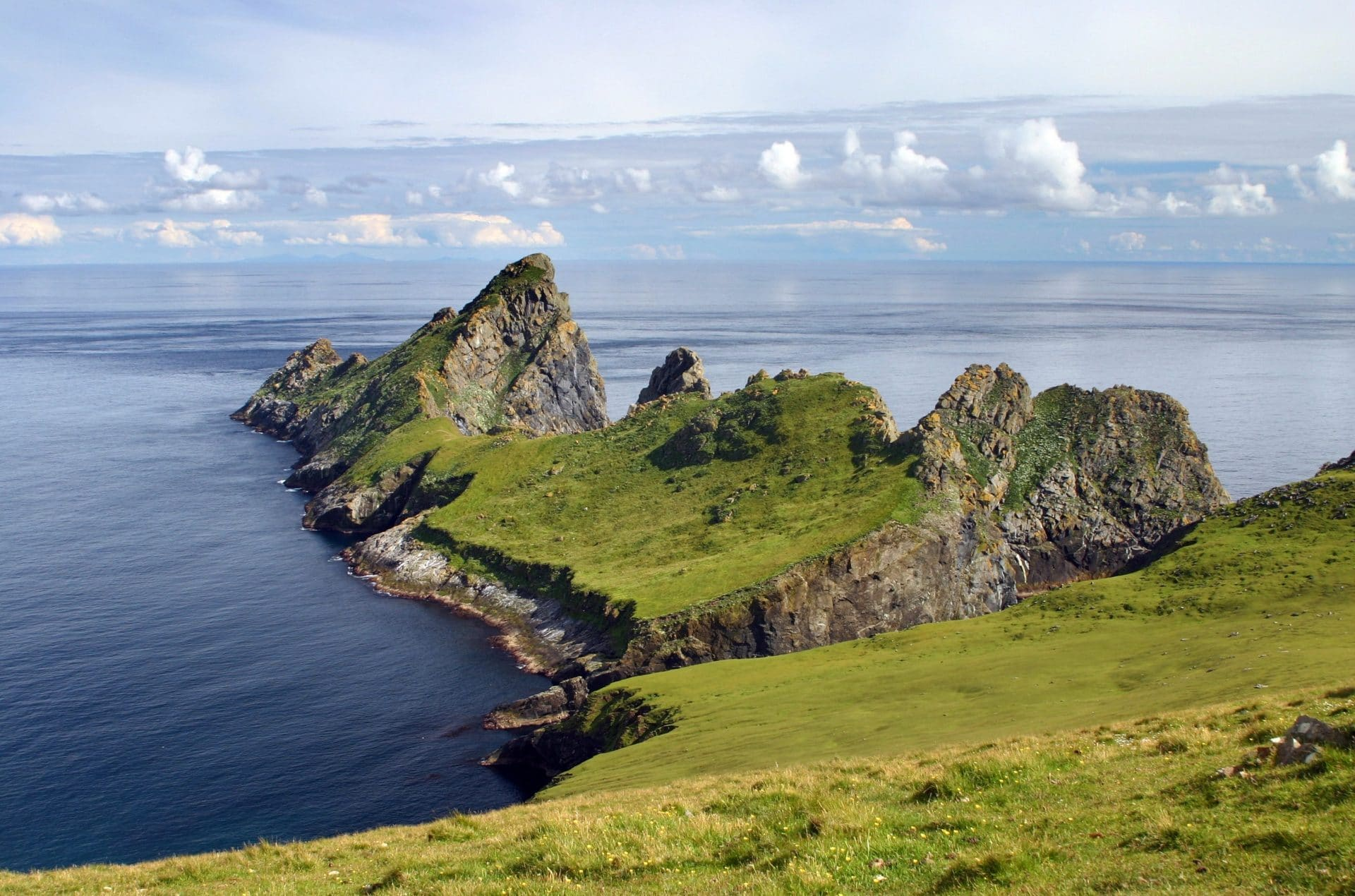 Hirta and dun at St. Kilda